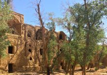 ancient mud citadel IRAN