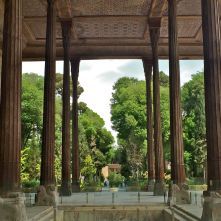 colonne Chelo Sotun Esfahan Iran