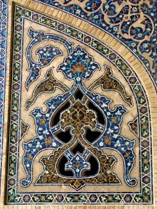 dettaglio moschea venerdi isfahan IRAN