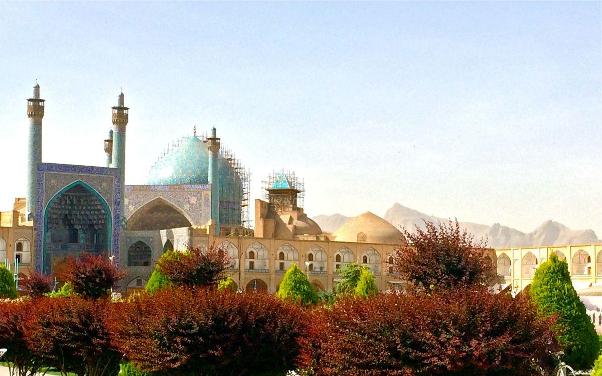 La grandeur dell'architettura di Isfahan