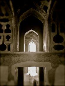 interno Ali qapu Palace Esfahan IRAN