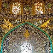 interno moschea Lotfollah Isfahan IRAN