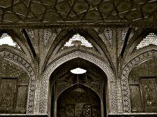 interno palazzo bazar Isfahan IRAN