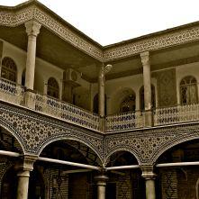 palazzo qajar bazar Isfahan IRAN