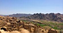 village panorama Kharanaq IRAN