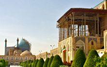 Ali Qapu & Imam Mosque Isfahan IRAN