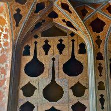 dettaglio Sala Musica Palazzo Ali Qapu, Isfahan IRAN