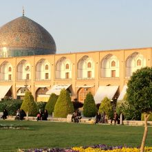 Isfahan Lotfollah mosque Iran
