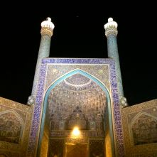 Moschea Esfahan night IRAN