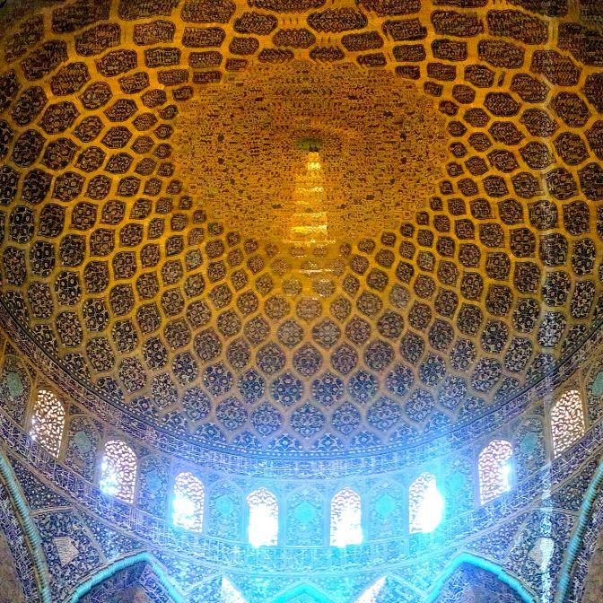 moschea Lotfollah Esfahan IRAN