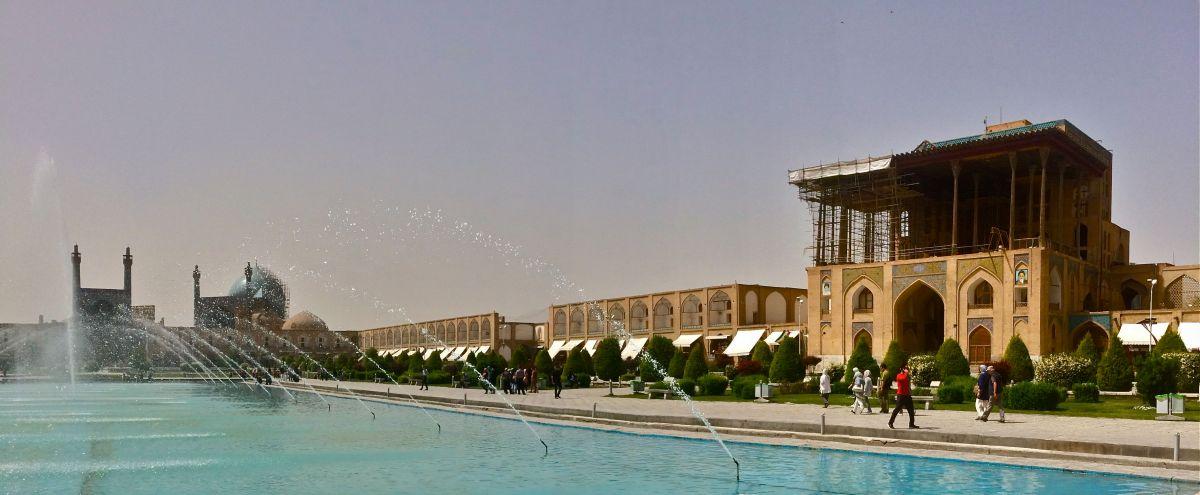 Isfahan e l'altra metà del mondo