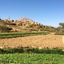 Kharanaq villaggio Iran